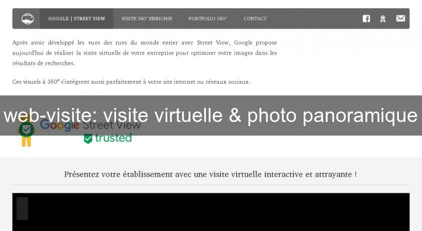 web-visite: visite virtuelle & photo panoramique