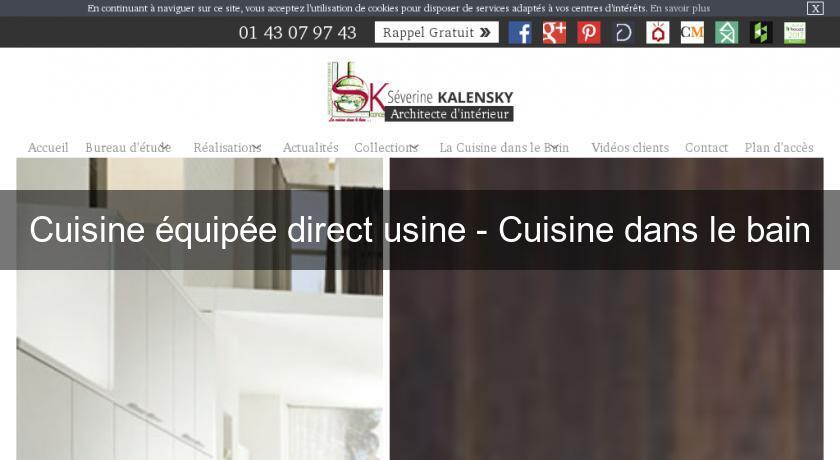 cuisine quip e direct usine cuisine dans le bain cuisine quip e. Black Bedroom Furniture Sets. Home Design Ideas