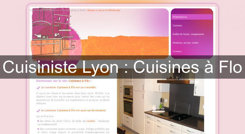 cuisiniste lyon cuisines flo fabricant cuisine. Black Bedroom Furniture Sets. Home Design Ideas