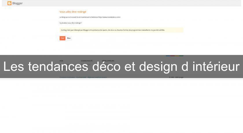 Les tendances d co et design d 39 int rieur d coration int rieure for Decoration interieure design et tendance