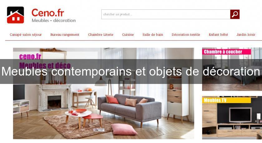 Meubles contemporains et objets de d coration d coration meuble - Inventaire des meubles et objets mobiliers ...