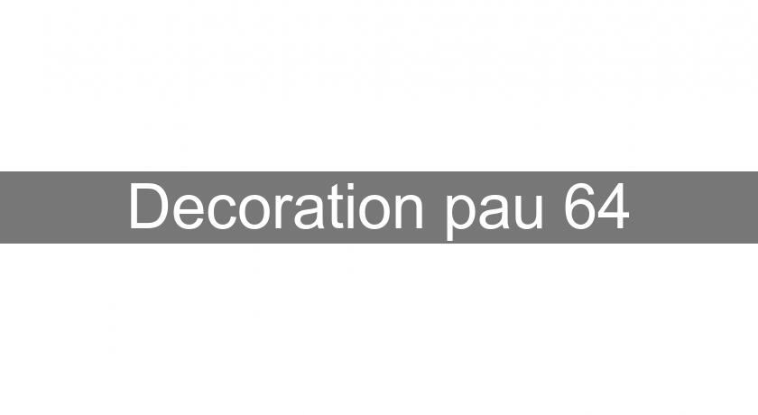 Decoration pau 64