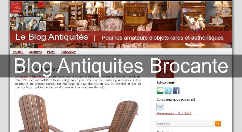 Blog Antiquites Brocante