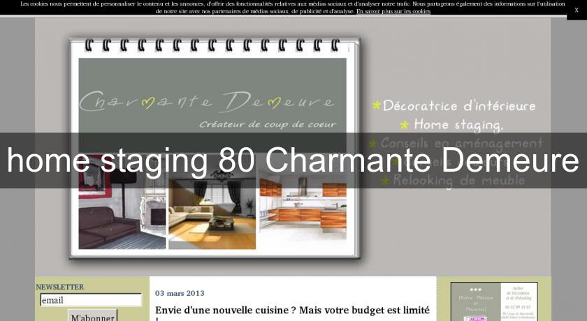home staging 80 Charmante Demeure