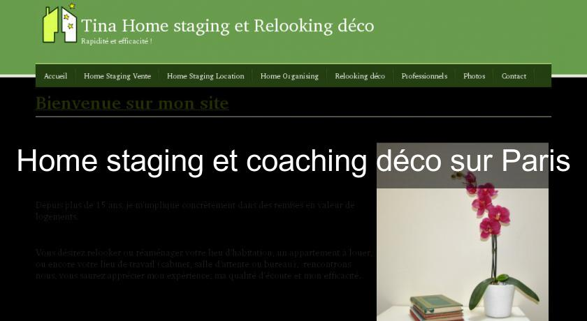 Home staging et coaching déco sur Paris