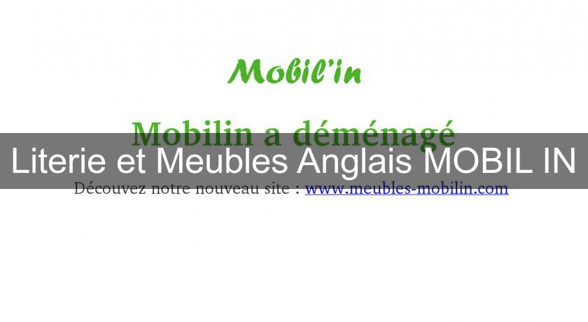 Literie et Meubles Anglais MOBIL'IN