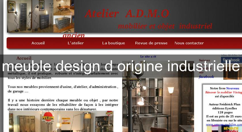 meuble design d'origine industrielle