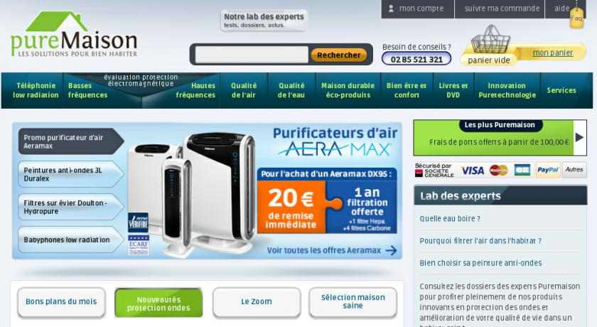 purificateur, humidificateur d'air, protection contre les ondes