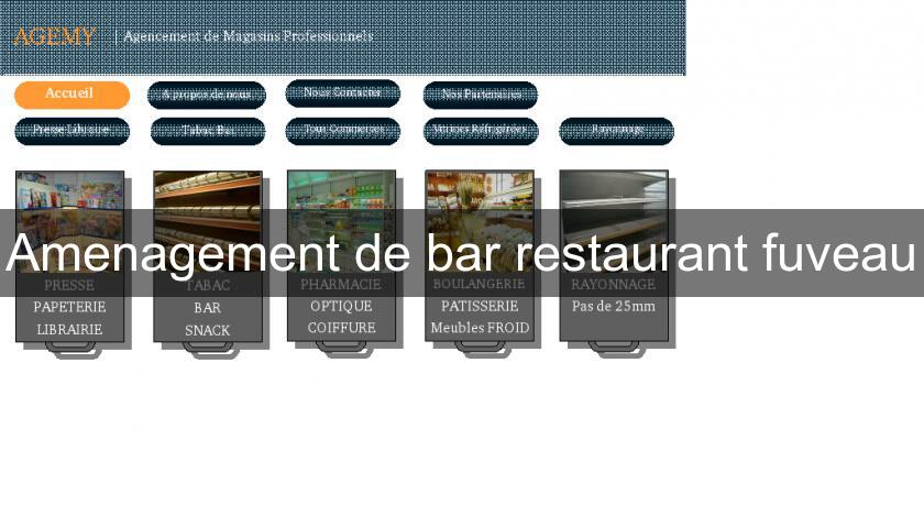 Amenagement de bar restaurant fuveau