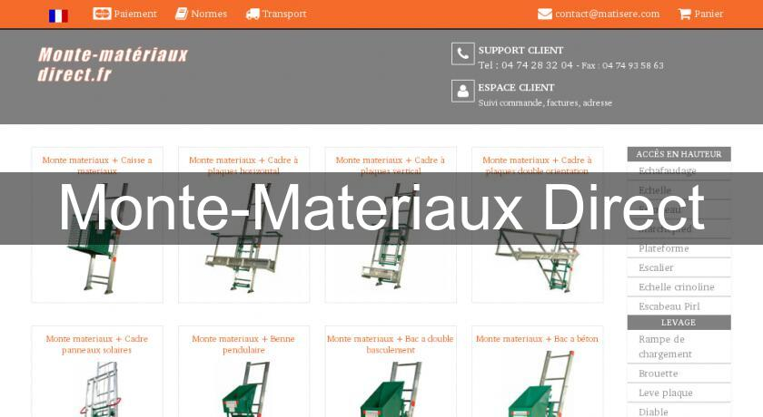Monte-Materiaux Direct