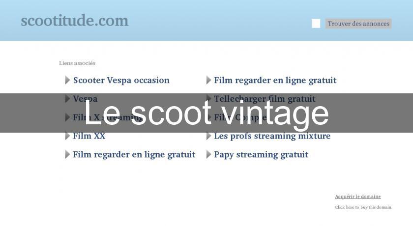 Vintage Scoot 3