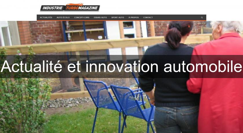 Actualité et innovation automobile