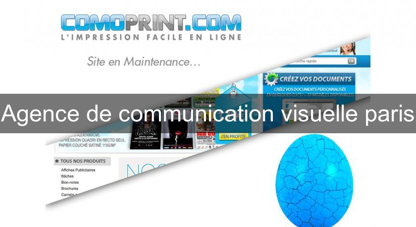 Agence de communication visuelle paris