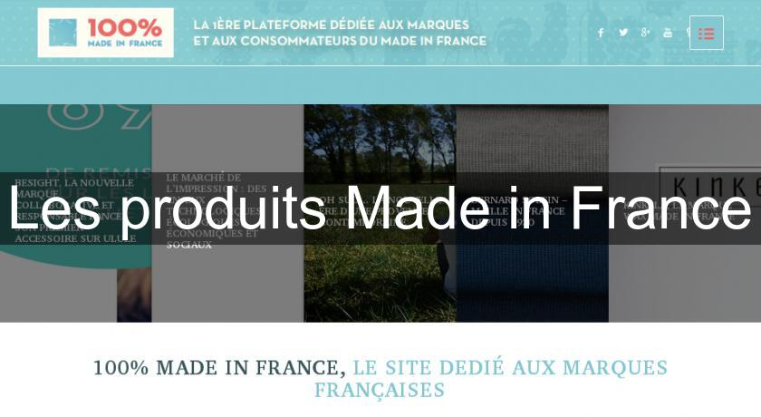 Les produits Made in France