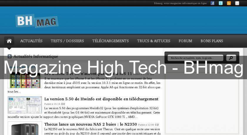 Magazine High Tech - BHmag