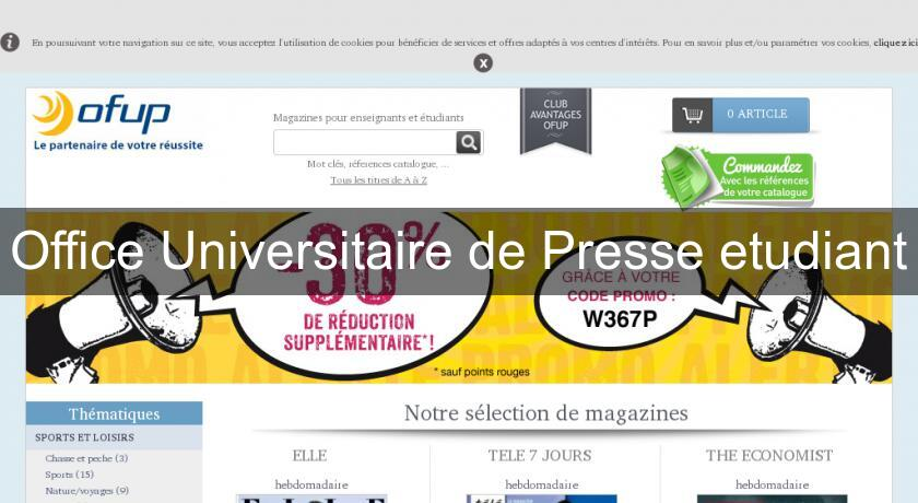 Office Universitaire de Presse etudiant