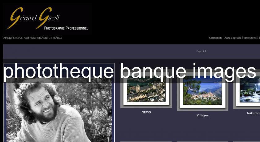 phototheque banque images