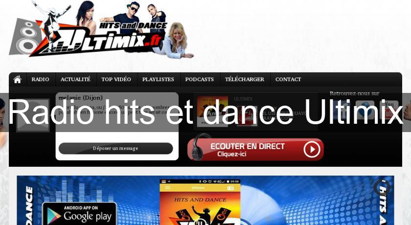 Radio hits et dance Ultimix