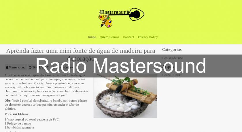 Radio Mastersound