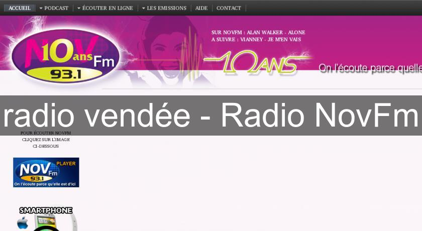 radio vendée - Radio NovFm