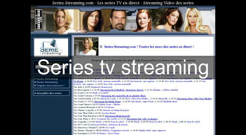 Series tv streaming