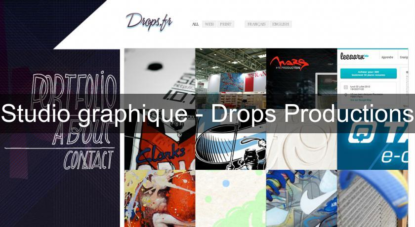 Studio graphique - Drops Productions