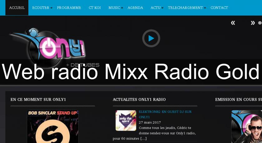 Web radio Mixx Radio Gold