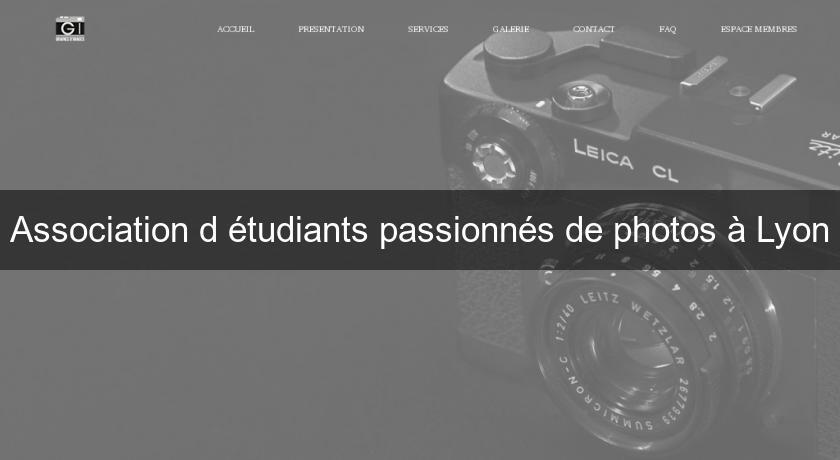 association d 39 tudiants passionn s de photos lyon photographe. Black Bedroom Furniture Sets. Home Design Ideas