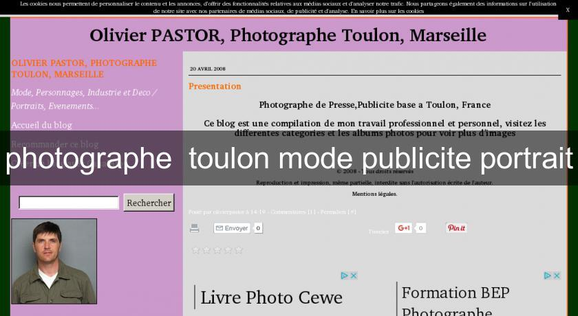 photographe  toulon mode publicite portrait