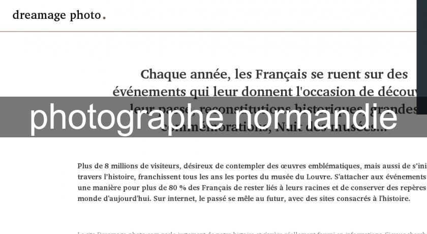 photographe normandie
