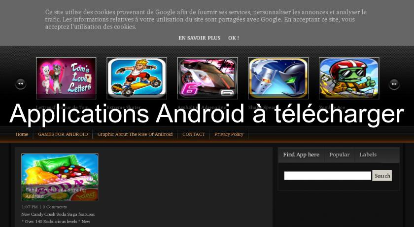 Applications Android à télécharger