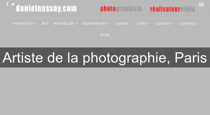 Artiste de la photographie, Paris