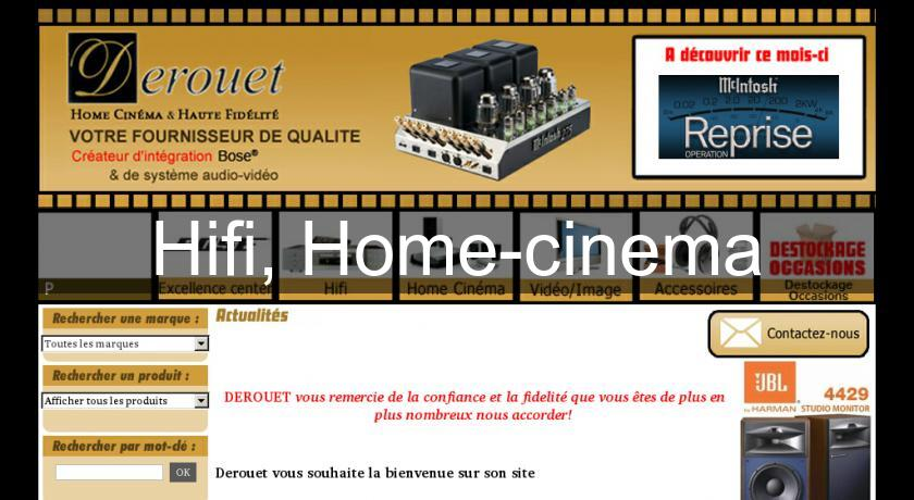 Hifi, Home-cinema