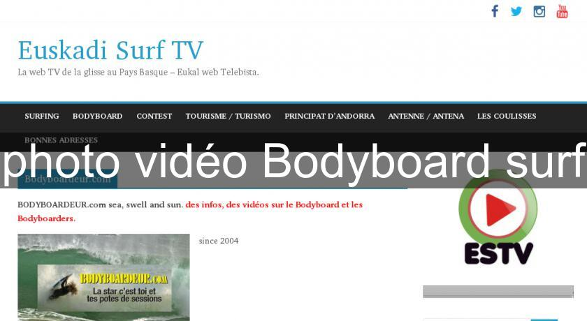 photo vidéo Bodyboard surf