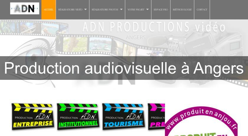 Production audiovisuelle à Angers