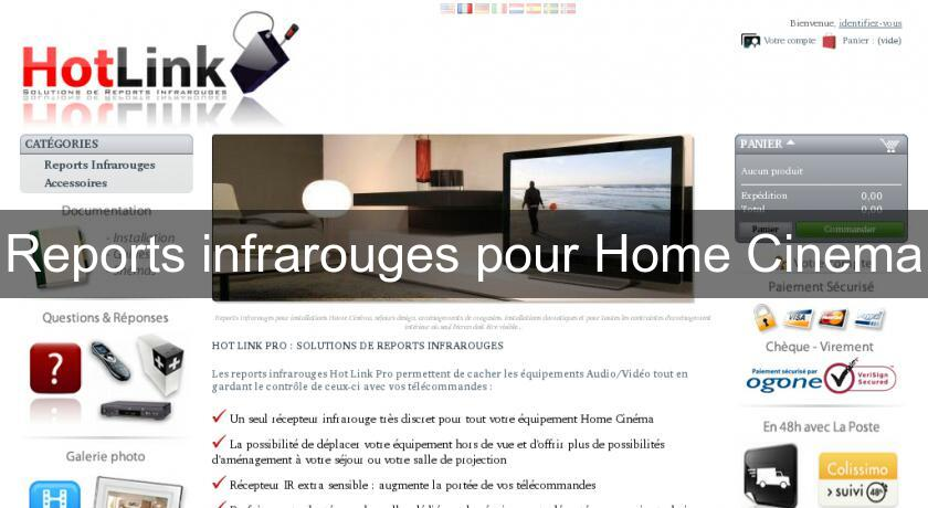 Reports infrarouges pour Home Cinema