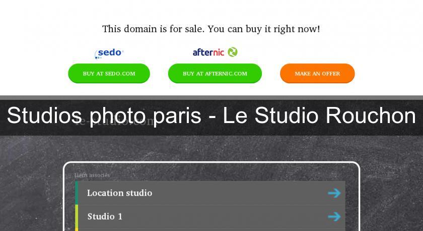 Studios photo paris - Le Studio Rouchon
