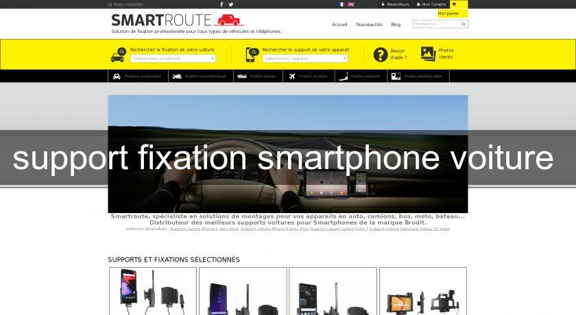 support fixation smartphone voiture