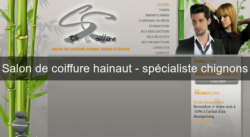 Salon de coiffure hainaut sp cialiste chignons soin esth tique - Salon de toilettage hainaut ...