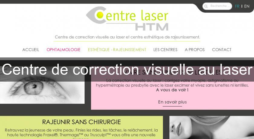 Centre de correction visuelle au laser