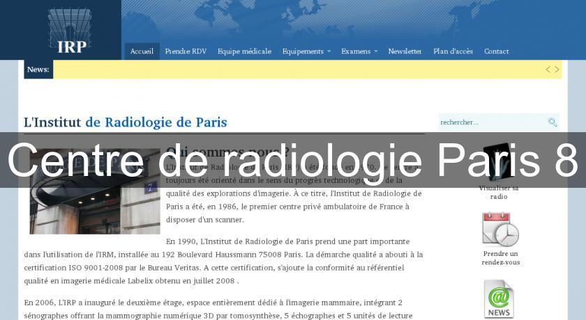Centre de radiologie Paris 8