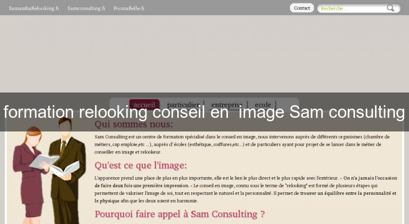formation relooking conseil en  image Sam consulting