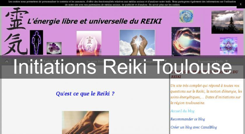 Initiations Reiki Toulouse