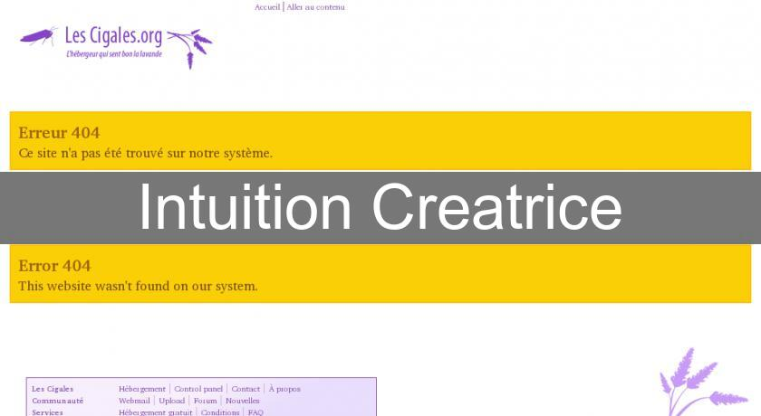 Intuition Creatrice