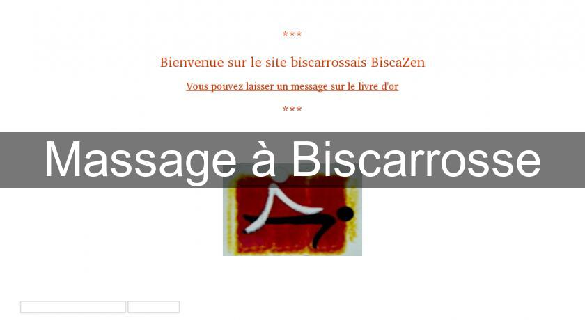 Massage à Biscarrosse