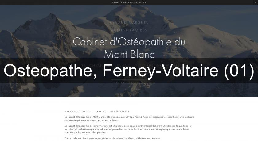 Osteopathe, Ferney-Voltaire (01)