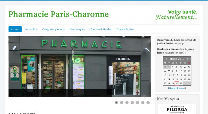 Pharmacie à Paris-Charonne