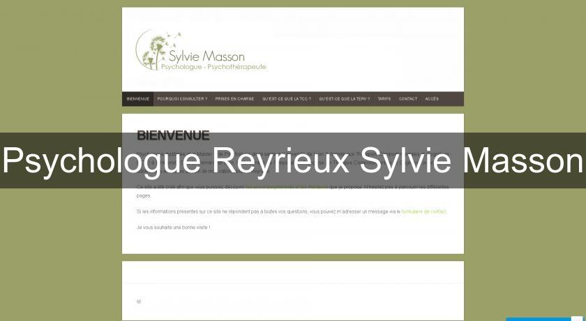 Psychologue Reyrieux Sylvie Masson