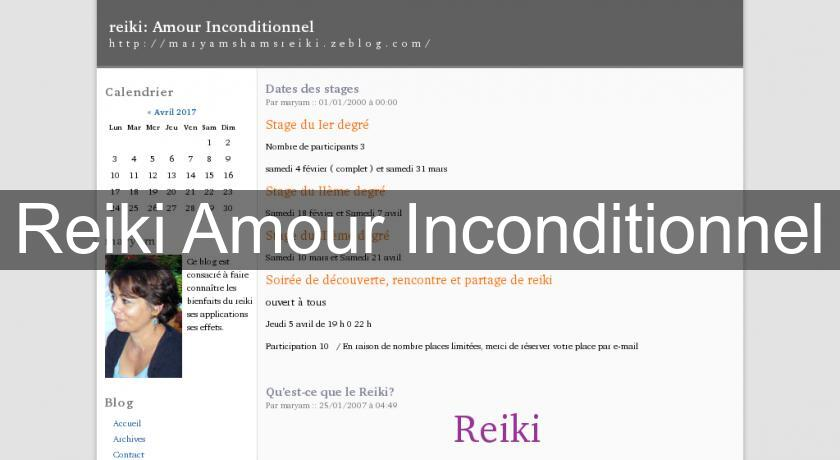 Reiki Amour Inconditionnel