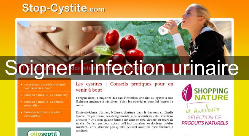 Soigner l'infection urinaire